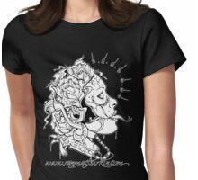 Dead Girl 2010 design Womens Fitted T-Shirt