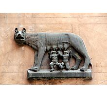 Romulus and Remus Photographic Print