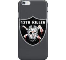 13th Killer iPhone Case/Skin