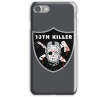 13th Killer iPhone Case/Skin