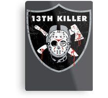 13th Killer Metal Print
