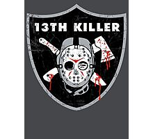 13th Killer Photographic Print
