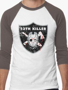 13th Killer Men's Baseball ¾ T-Shirt