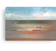 Welcome to my day Canvas Print