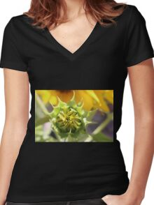 Premature Women's Fitted V-Neck T-Shirt