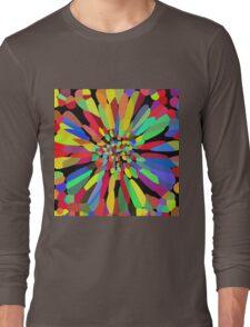 Confetti Flower   Long Sleeve T-Shirt