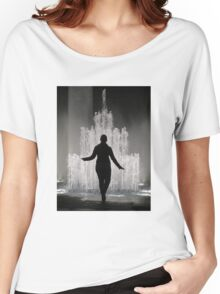 Fountain in Ginza, Tokyo Women's Relaxed Fit T-Shirt