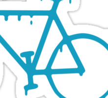 paint the bike Sticker