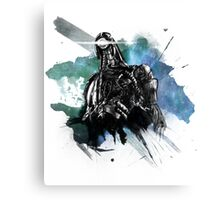 For we are many - Galaxy [Mass Effect Fanart] Canvas Print