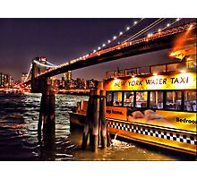 Yellow Cab Photographic Print