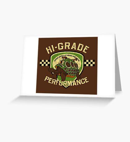 Hi-Grade Performance Greeting Card