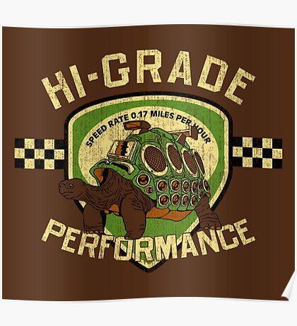 Hi-Grade Performance Poster