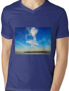 Angel in the sky ~ Landscape Horizontal Mens V-Neck T-Shirt