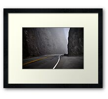 The Future is Always Out There Framed Print