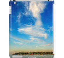 Angel in the sky ~ Landscape Horizontal iPad Case/Skin