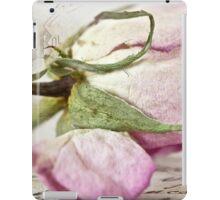 Vintage Paper Rose iPad Case/Skin