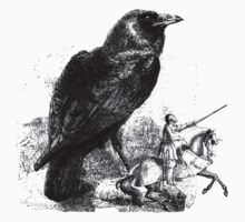 Fable of the Giant Raven & Knight by Zehda