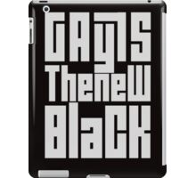 Gay Is The New Black iPad Case/Skin