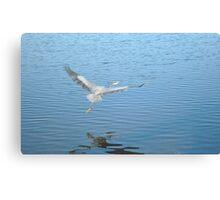 Azure World Canvas Print