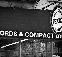 bleecker street records by Amanda Munoz