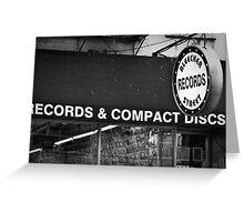 bleecker street records Greeting Card