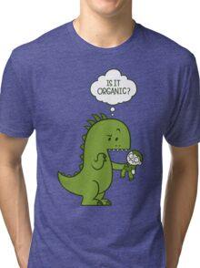 Organic Dinosaur Tri-blend T-Shirt