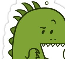 Organic Dinosaur Sticker