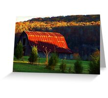 The Red Roof Greeting Card