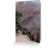 Scene from the South Rim Greeting Card