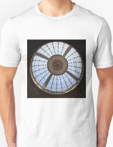 Berrington Hall, Circular Skydome Unisex T-Shirt
