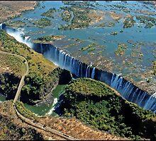 Victoria Falls and Batoka Gorge by ten2eight