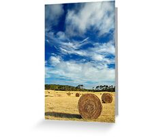 The Bales Revisited Greeting Card