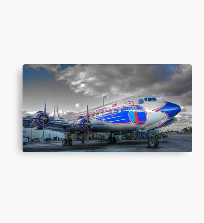 Eastern Airlines DC-7B Canvas Print