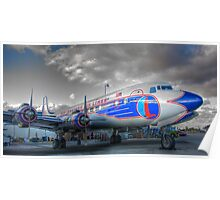 Eastern Airlines DC-7B Poster