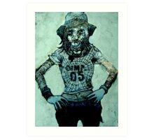 Not happy Jimmi Art Print
