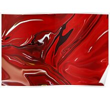 RED CRANBERRY ABSTRACT Poster