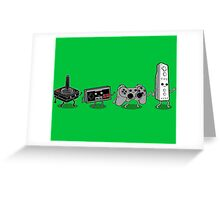Controller Evolution Greeting Card