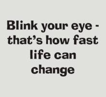 Blink an eye by Matthew Walmsley-Sims