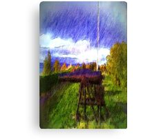 The Canon photo art Canvas Print