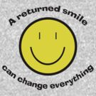 Return a smile by Matthew Sims