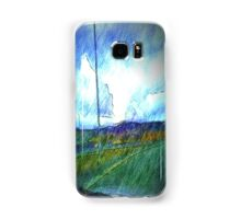 Landscape view from car Samsung Galaxy Case/Skin