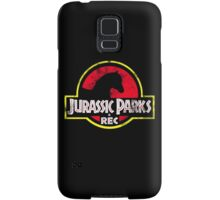Jurassic Parks and Rec Distressed  Samsung Galaxy Case/Skin