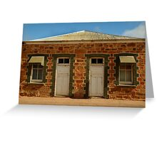 Elements of Terowie,South Australia Greeting Card