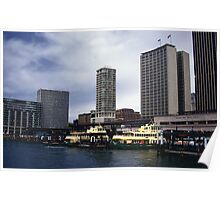 Circular Quay Sydney Australia Poster