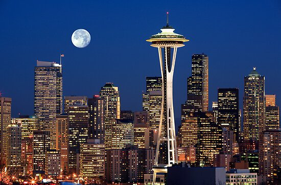 Sleepless in Seattle by Inge Johnsson