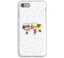 Candy & Cameron hold Hands iPhone Case/Skin