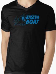 Bigger Boat Funny TShirt Epic T-shirt Humor Tees Cool Tee Mens V-Neck T-Shirt