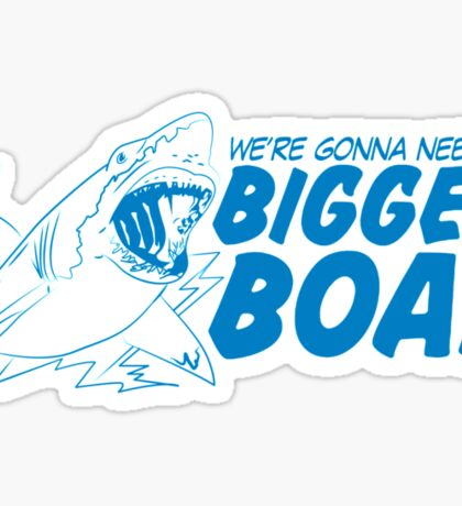 Bigger Boat Funny TShirt Epic T-shirt Humor Tees Cool Tee Sticker