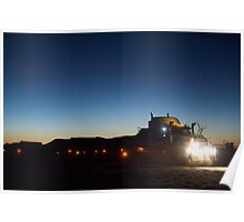 Night Truckin' Poster