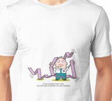 Mr. White Collar - Change Direction Unisex T-Shirt